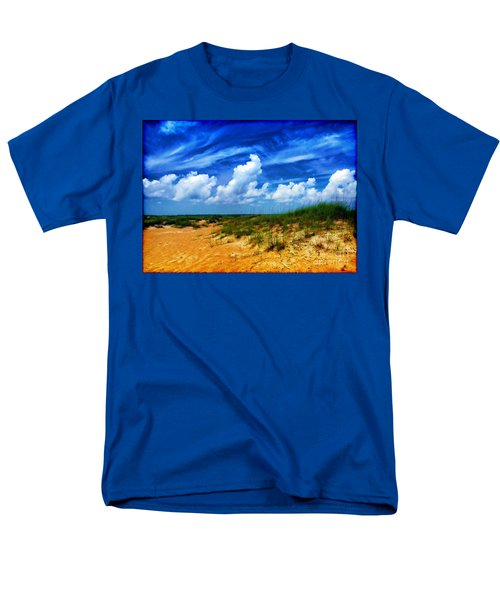 Dunes At Bald Head Island Men's T-Shirt  (Regular Fit) by Judi Bagwell