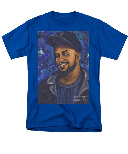 Men's T-Shirt  (Regular Fit) featuring the painting E by Alga Washington