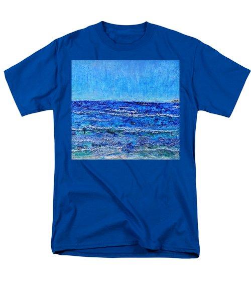 Ebbing Tide Men's T-Shirt  (Regular Fit) by Regina Valluzzi