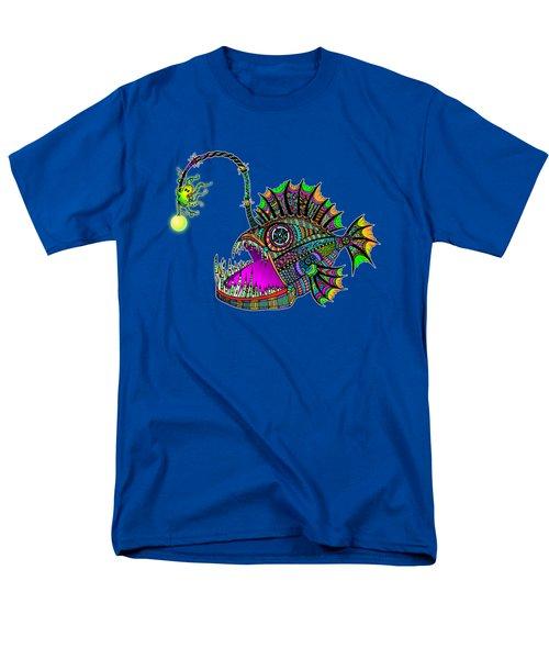 Electric Angler Fish Men's T-Shirt  (Regular Fit) by Tammy Wetzel