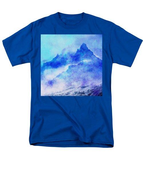 Men's T-Shirt  (Regular Fit) featuring the digital art Enchanted Scenery #4 by Klara Acel