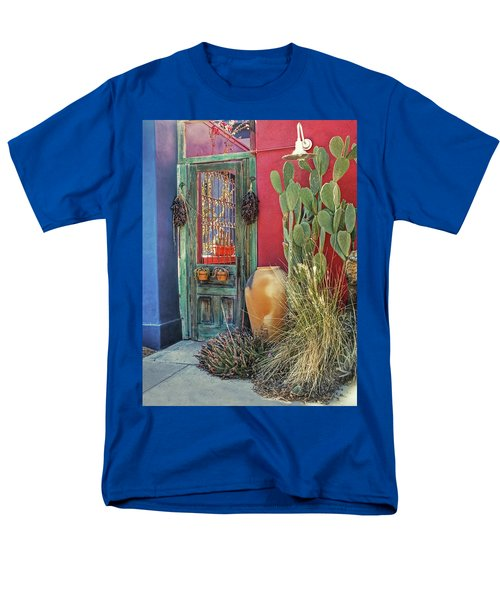 Enter - You Are Always Welcome Men's T-Shirt  (Regular Fit) by Lucinda Walter