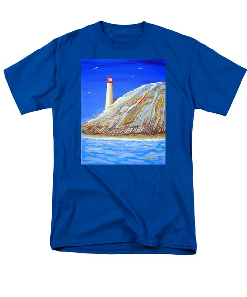 Entering The Harbor Men's T-Shirt  (Regular Fit) by J R Seymour