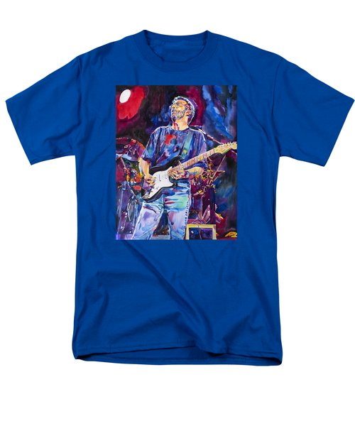 Eric Clapton And Blackie Men's T-Shirt  (Regular Fit) by David Lloyd Glover