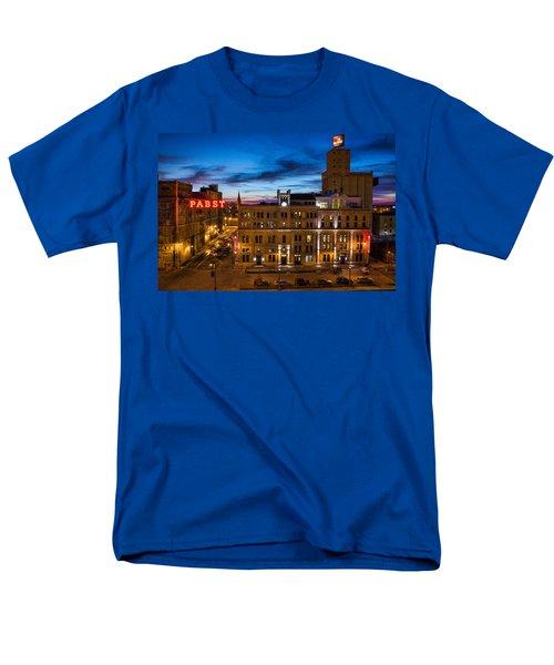 Evening At Pabst Men's T-Shirt  (Regular Fit) by Bill Pevlor