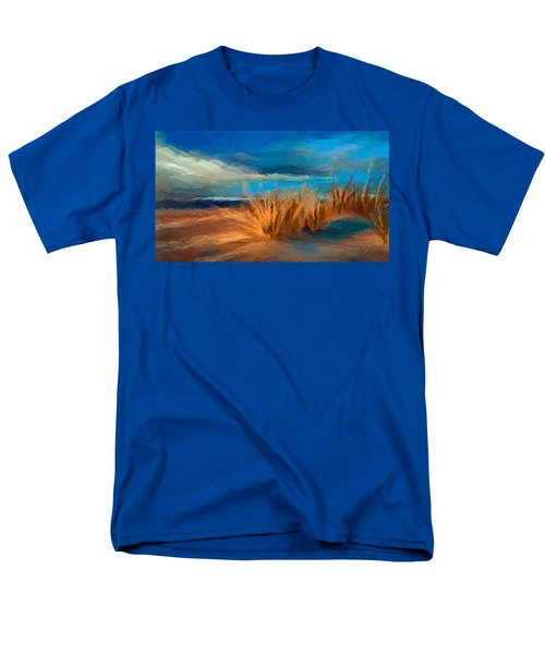 Evening Beach Dunes Men's T-Shirt  (Regular Fit) by Anthony Fishburne