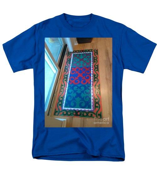 Floor Cloth Arabesque Men's T-Shirt  (Regular Fit) by Judith Espinoza