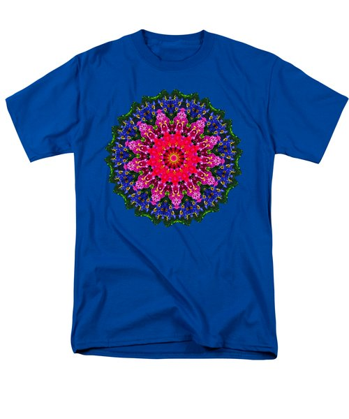 Floral Kaleidoscope By Kaye Menner Men's T-Shirt  (Regular Fit) by Kaye Menner