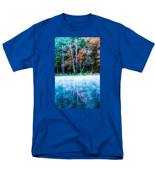 Fog On The Lake Men's T-Shirt  (Regular Fit) by Parker Cunningham