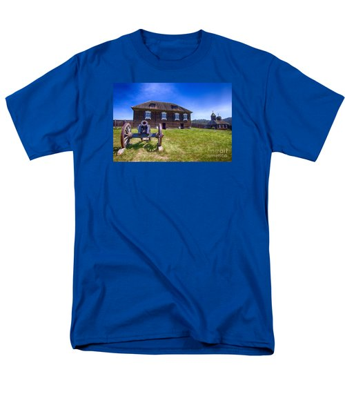 Men's T-Shirt  (Regular Fit) featuring the photograph Fort Ross State Historic Park by Jason Abando