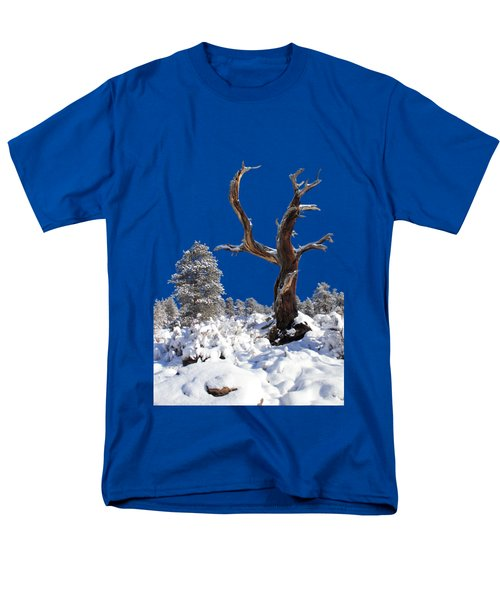 Men's T-Shirt  (Regular Fit) featuring the photograph Fresh Snow by Shane Bechler