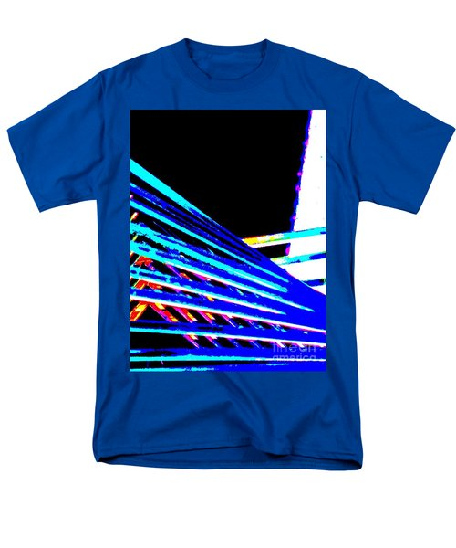 Geometric Waves Men's T-Shirt  (Regular Fit) by Tim Townsend