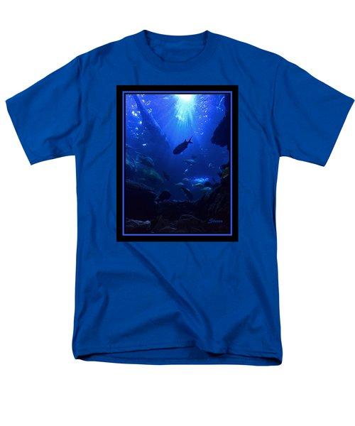 Getting Along Men's T-Shirt  (Regular Fit) by Steven Lebron Langston