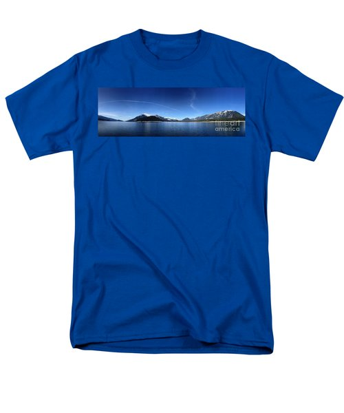 Men's T-Shirt  (Regular Fit) featuring the photograph Glowing In The Blue by Victor K