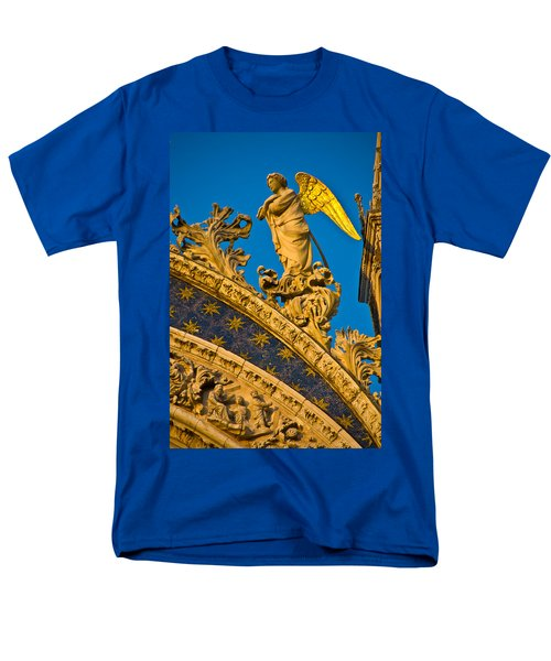 Men's T-Shirt  (Regular Fit) featuring the photograph Golden Angel by Harry Spitz