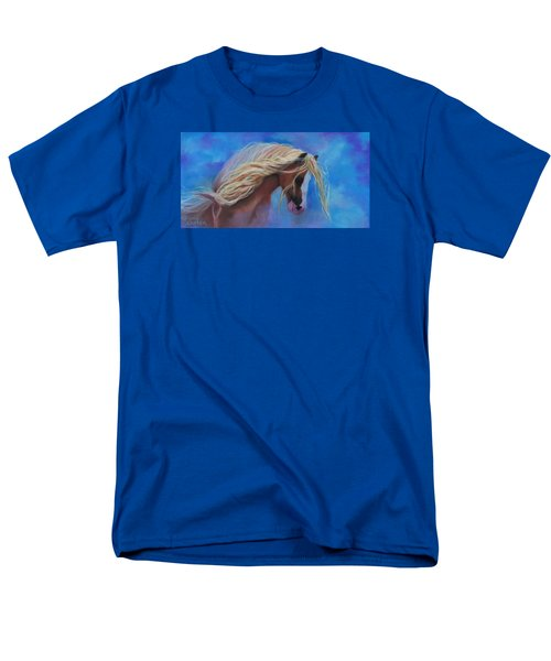 Gypsy In The Wind Men's T-Shirt  (Regular Fit) by Karen Kennedy Chatham