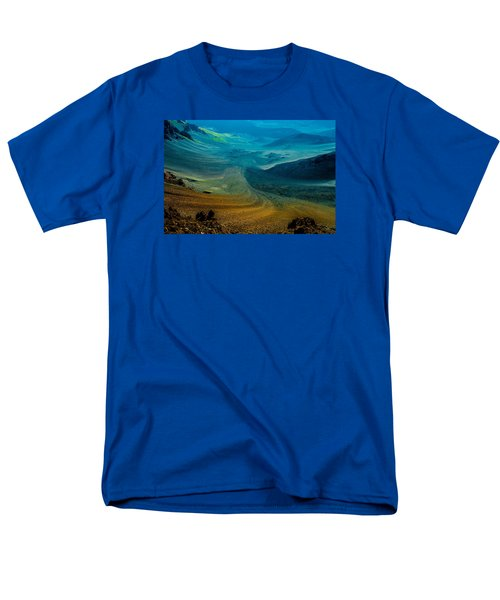 Men's T-Shirt  (Regular Fit) featuring the photograph Haleakala by M G Whittingham