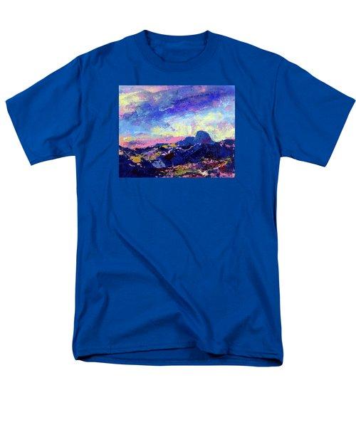 Half Dome Summer Sunrise Men's T-Shirt  (Regular Fit) by Walter Fahmy