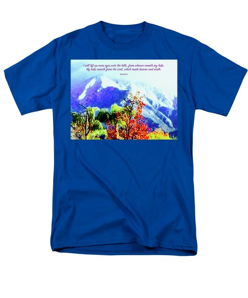 Heaven And Earth Men's T-Shirt  (Regular Fit) by Russell Keating