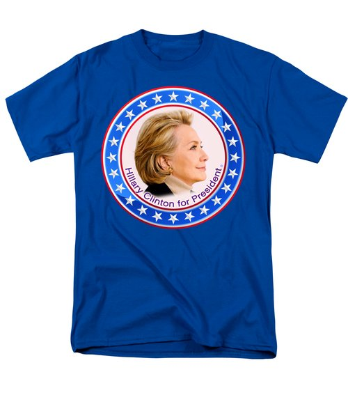 Hillary For President Men's T-Shirt  (Regular Fit) by The Art Angel Don