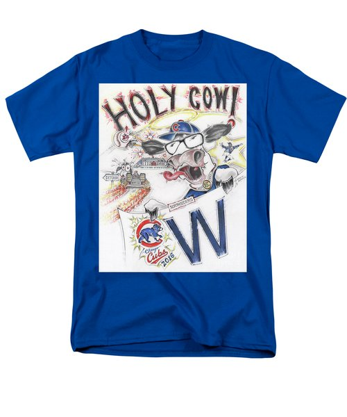 Holy Cow  Men's T-Shirt  (Regular Fit) by Scott and Dixie Wiley