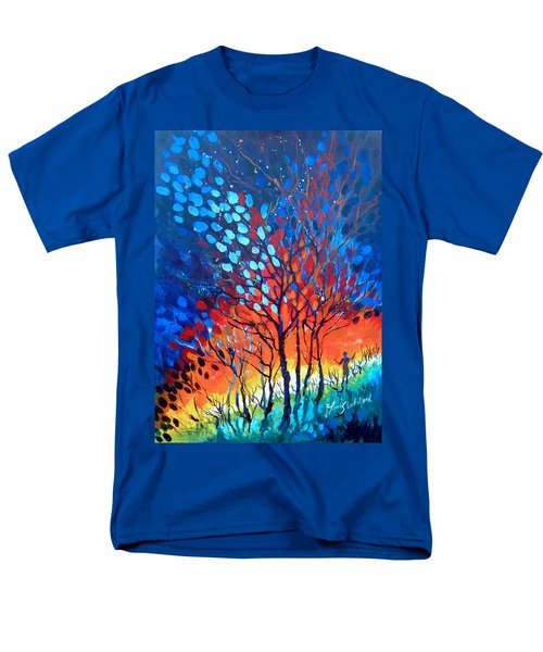 Horizons Men's T-Shirt  (Regular Fit) by Linda Shackelford
