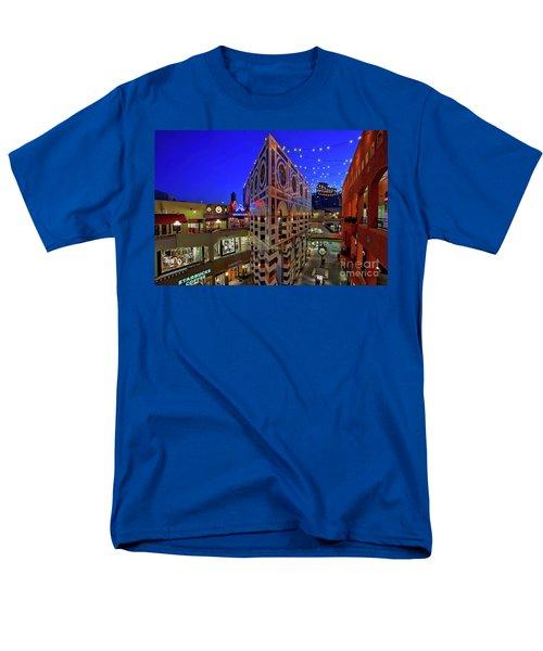 Horton Plaza Shopping Center Men's T-Shirt  (Regular Fit) by Sam Antonio Photography
