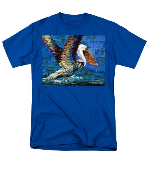 Men's T-Shirt  (Regular Fit) featuring the painting Im Outa Here by Suzanne McKee