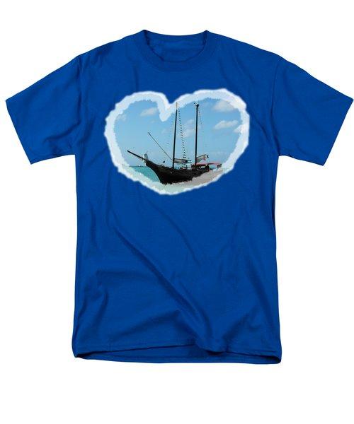 In My Heart Men's T-Shirt  (Regular Fit) by David and Lynn Keller