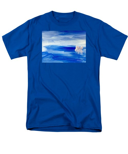 Men's T-Shirt  (Regular Fit) featuring the painting In This Sea Of Life by Trilby Cole