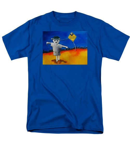 Inhalation Hazard Men's T-Shirt  (Regular Fit) by Jean Cormier