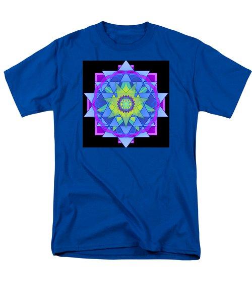 Inner Light Mandala Men's T-Shirt  (Regular Fit) by Mimulux patricia no No