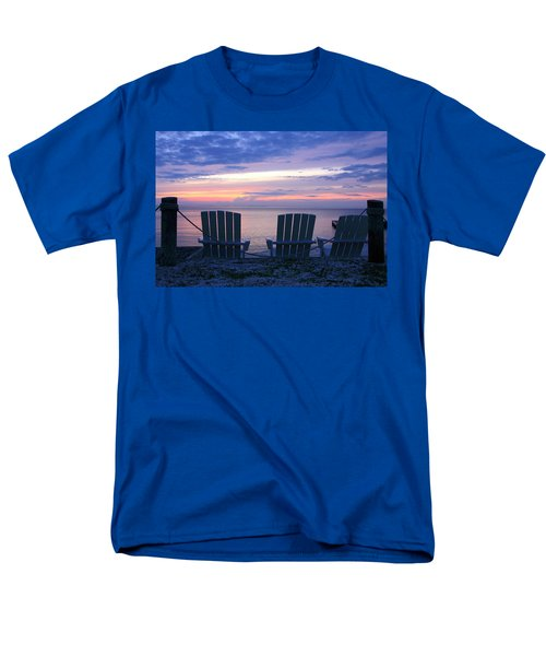 Island Time Men's T-Shirt  (Regular Fit) by Catherine Alfidi