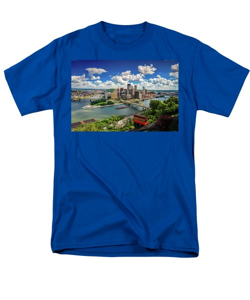 Men's T-Shirt  (Regular Fit) featuring the photograph It's A Beautiful Day In The Neighborhood by Emmanuel Panagiotakis