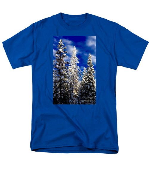 Its Now Crystal Clear Men's T-Shirt  (Regular Fit) by Jennifer Lake