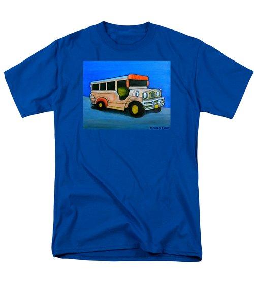 Jeepney Men's T-Shirt  (Regular Fit) by Cyril Maza