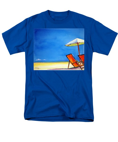 Men's T-Shirt  (Regular Fit) featuring the painting Join Me by Suzanne McKee