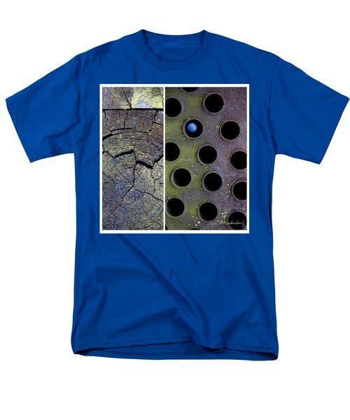 Juxtae #58 Men's T-Shirt  (Regular Fit) by Joan Ladendorf