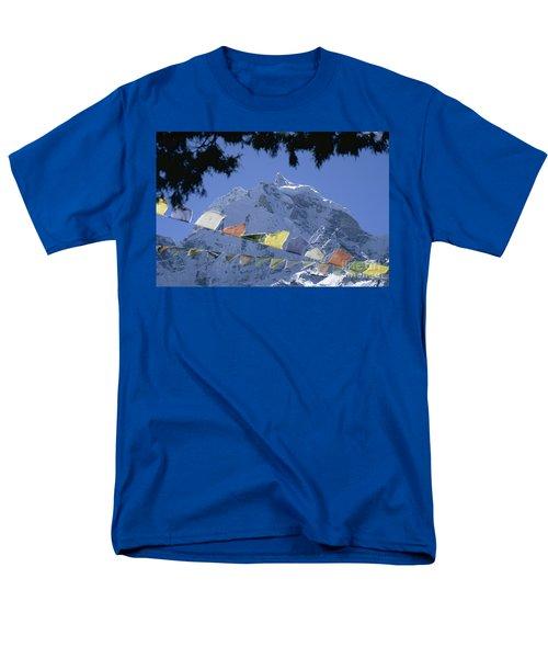 Men's T-Shirt  (Regular Fit) featuring the photograph Kang Tega Nepal by Rudi Prott
