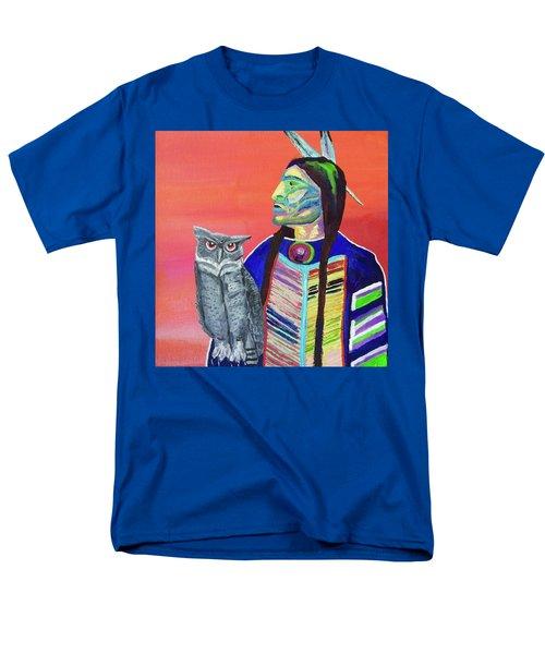 Keeper Of The Night Men's T-Shirt  (Regular Fit) by Brenda Pressnall