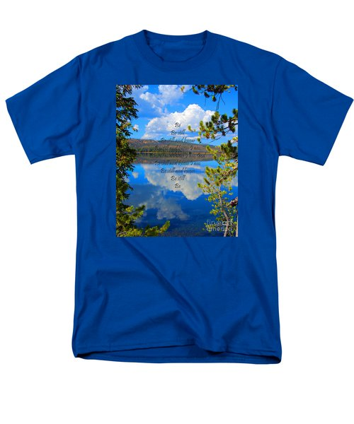Men's T-Shirt  (Regular Fit) featuring the photograph Know I Am by Diane E Berry