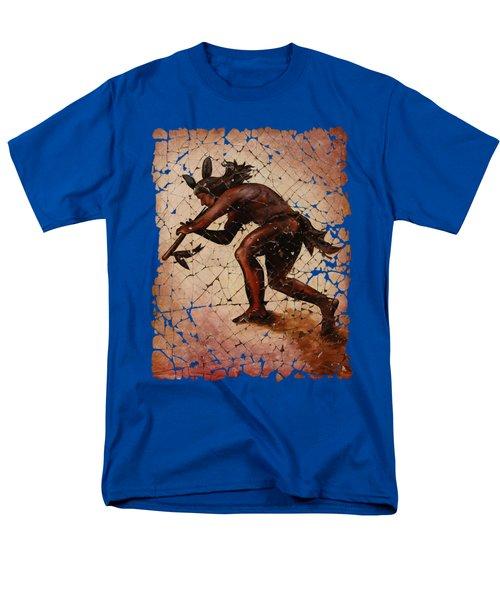 Kokopelli Flute Player Men's T-Shirt  (Regular Fit)