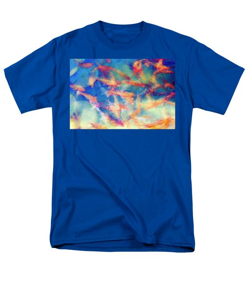 Kolorful Koi Series Men's T-Shirt  (Regular Fit)