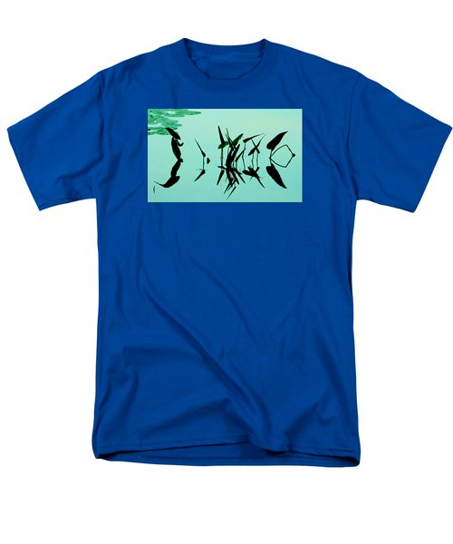 Leaves And Dragonflies 2 Men's T-Shirt  (Regular Fit) by David Gilbert