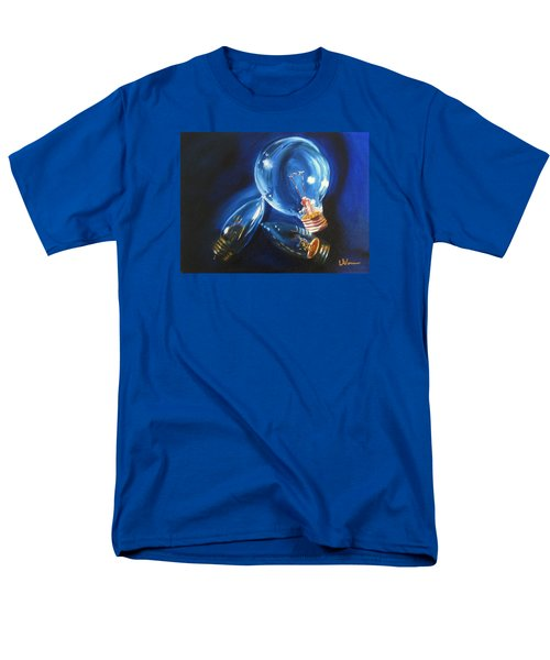 Men's T-Shirt  (Regular Fit) featuring the painting Light Up My Life by LaVonne Hand