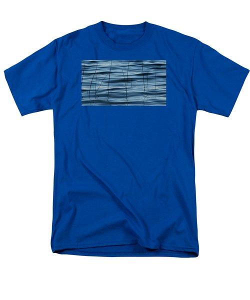 Men's T-Shirt  (Regular Fit) featuring the photograph Liquid Reflections  by Lyle Crump