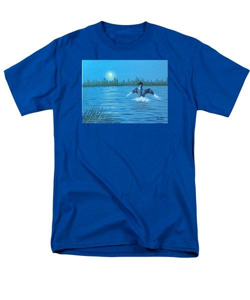 Loon Dance Men's T-Shirt  (Regular Fit)