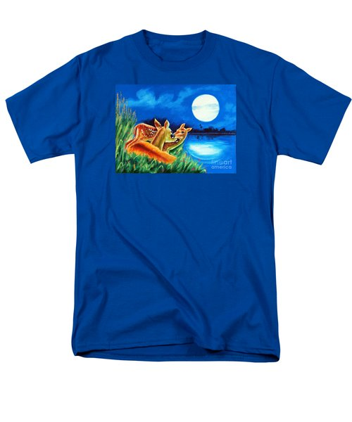 Men's T-Shirt  (Regular Fit) featuring the painting Love And Affection by Ragunath Venkatraman