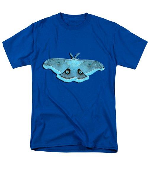 Male Moth Aqua .png Men's T-Shirt  (Regular Fit) by Al Powell Photography USA