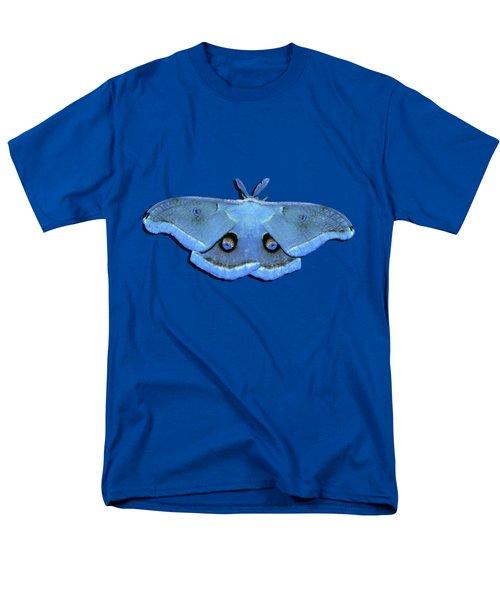 Male Moth Light Blue .png Men's T-Shirt  (Regular Fit)